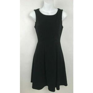 LC Lauren Conrad Black Sleeveless Keyhole Dress 2